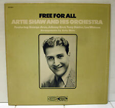 Rare Jazz LP - Artie Shaw - Free For All - Epic # EE 22023