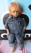 """Annette Himstedt Timi American Heartland Collection 22"""" Boy Doll Puppen Kinder"""