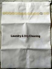 Large White Laundry & Dry Cleaning bag from Genting Grand