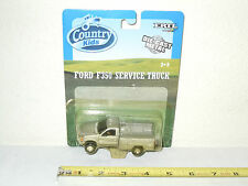 Grey Ford F-350 Service Dually Pickup  By Ertl   1/64th Scale