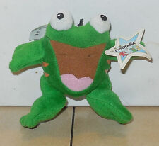 2005 Mcdonalds Happy Meal Toy Neopets Plush Green Quiggle