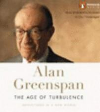 ALAN GREENSPAN The Age of Turbulence, 2007, 16 CDs,  Unabridged New Audiobook