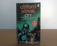 "Vintage Sphere book ""City"" by Clifford Simak"