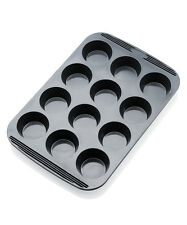 Chefs Toolbox Flexishapes Non-Stick Silicone 12 Cup Muffin / Cupcake Pan