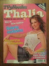 ULTRA RARE 2005 Edicion Especial TVyNovelas Magazine Rare Todo sobre THALIA