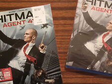 Hitman Agent 47  ( Blu-ray with slipcover & 28-page comic book!! )