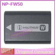 Genuine Original Sony NP-FW50 Battery For NEX-3C NEX-5C A55 A33 BC-VW1 Charger