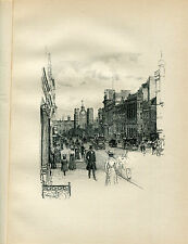 GATEWAY OF ST JAMES'S PALACE; ORIGINAL LITHOGRAPH by THOMAS R WAY 1902 367/400