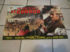 FOTOBUSTA, EL CONDOR LEE VAN CLEEF JIM BROWN,Guillermin  Western