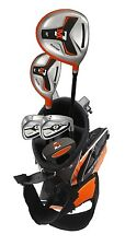 NEW M7 JUNIOR COMPLETE CLUB SET GOLF CLUBS PUTTER BAG KIDS CHILDREN AGES 9-12 RH