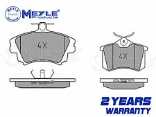 FOR VW PASSAT 1.6 1.8 1.9 TDi FRONT  REAR MEYLE GERMANY BRAKE PADS PAD SET 00-05