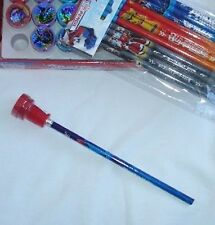 Transformers 12 Pencil & 12 Self Inking Stamper Topper Combo Child Party Bag