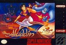 Disney's Aladdin SYSTEM SNES SUPER NINTENDO GAME ONLY NES HQ