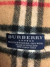Burberry Cashmere and Lambswool Scarf