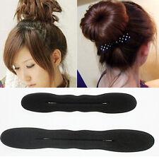 2* Éponge magique Clip mousse Bun bigoudi Twist coiffure cheveux Clip beauté
