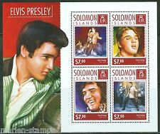 SOLOMON ISLANDS 2014 ELVIS PRESLEY SHEET MINT NH