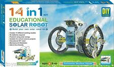 14 in 1 Solar Robot Kit- Educational Solar Toy