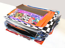 Massive Job Lot 16kg Car Vinyl Wrap Offcuts - Sign Making Stickers Self-Adhesive
