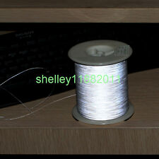 0.3mmx5000m Double Sided Silver Reflective Yarn Thread Tape For Weaving
