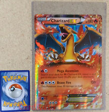 JUMBO Pokemon XY XY17 Charizard EX OVERSIZED Holo Promo Card w/ Top Loader