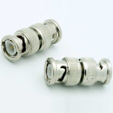 BNC Coupler Male~M short cable/cord Adapter,Video/Security/Camera/DSR/Cam/CCTV