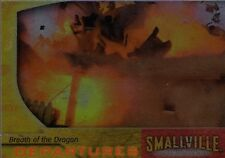 Smallville Season 3 Chase/Insert Card Departures Breath Dragon D4