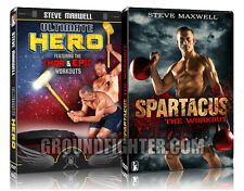 Steve Maxwell 2 Pack: Spartacus and Ultimate Hero Workouts