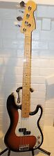 2012 Fender American Select Precision Bass Sunburst w/Hard Shell Tweed Case