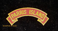 MCRD PARRIS ISLAND DRILL INSTRUCTOR TAB SHOULDER PATCH US MRAINES DI RECRUIT WM