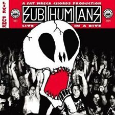 Live in a Dive [ECD] by Subhumans (UK) (CD, Feb-2004, Fat Wreck Chords)