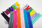 Nylon Coil Zippers Tailor Sewer Craft 9 Inch Crafter's &FGDQRS Choose Color/Qty