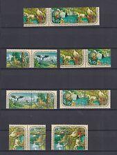 UNO New York 1991 postfrisch 16 verschiedene Zusammendrucke von MiNr  608-611