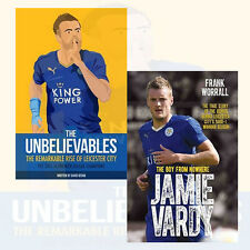 Jamie Vardy & Unbelievables Premier League New Football 2 Books Collection Set