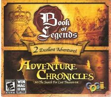 Book of Legends and Adventure Chronicles:The Search for Lost Treasure (PC-CD)NEW