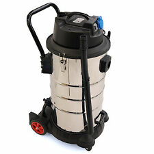60L /1.400W industrial vacuum cleaner /wet &dry stainless steel washable filters
