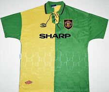 1992-1994 MANCHESTER UNITED ADIDAS THIRD FOOTBALL SHIRT (SIZE XL)