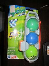 Koosh Galaxy Koosh Ball Ammo Clip 3 Balls Blue Green Lime Nerf Blaster Ball toy