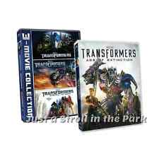 Transformers: Complete Movie Series 1 2 3 4 Michael Bay Box / DVD Set(s) NEW!