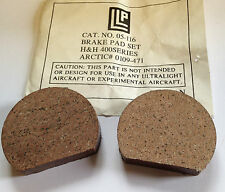 ARCTIC CAT 1970-1981 SKIROULE 1972-1974 BRAKE PADS NEW OLD STOCK PACKAGE OF 2