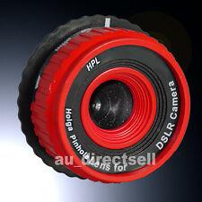 Holga Pinhole Lens HPL-N Red for Nikon DSLR Camera D3100 D3000 D700 D80 D5100