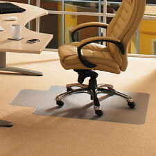 Office Chair Mat with Lip for Low Pile Carpet Clear Durable