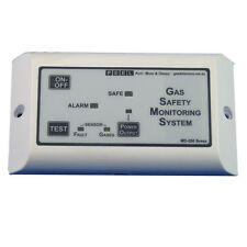 Marine LPG Gas detector, alarm and shut off - Dual sensor