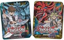 YUGIOH Mega Tins 2016 1 X Yugi Slifer 1X Kaiba Obelisk Booster Box Ready Now set