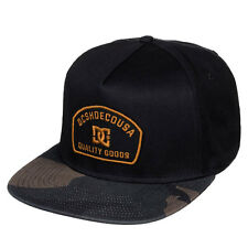 DC Shoes Men's Glades Snapback Hat Camo Black (kvj0) skate streetwear headwear