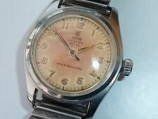VINTAGE ROLEX TUDOR OYSTER ROYAL STAINLESS GENTS MECHANICAL WRIST WATCH