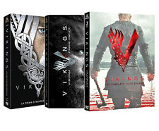 VIKINGS - SERIE COMPLETA 01-03 (9 DVD + Portachiave) SERIE TV WARNER HOME VIDEO