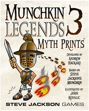 Munchkin Legends 3: Myth Prints Expansion From Steve Jackson Games Card Game