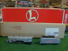 LIONEL TRAINS NO. 52225 MONOPOLY PEWTER STEAM LOCOMOTIVE AND TENDER - VERY NICE