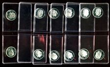 2000-2008 2009 2010 2011 S 90% SILVER PROOF DCAM ROOSEVELT DIMES 12 coins