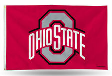 Ohio State Buckeyes Authentic 3x5 Indoor/Outdoor Flag Banner NCAA Hologram